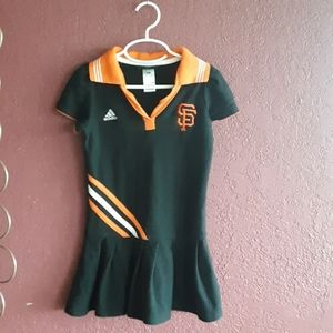 SF Giants Black Orange Dress